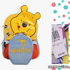 Disney Pooh Bear Backpack & Lunchbox